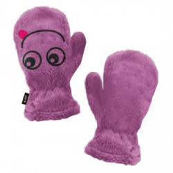 fleece mittens Astrolabio girl