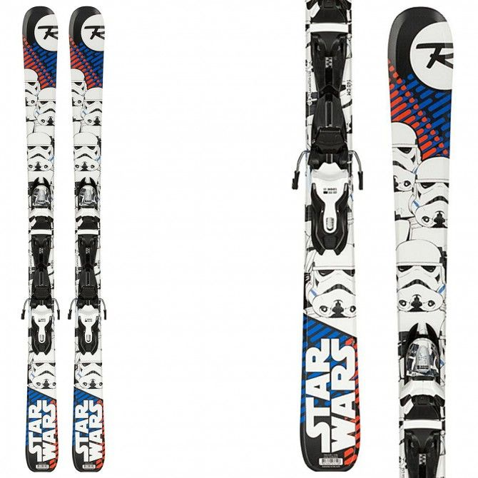 Sci Rossignol Star Wars (Xpress) + attacchi Xpress Jr 7 B83 ROSSIGNOL