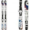 Sci Rossignol Star Wars (Xpress) + attacchi Xpress Jr 7 B83