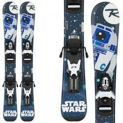 Esquí Rossignol Star Wars Baby + fijaciones Team B76