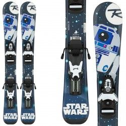 Ski Rossignol Star Wars Baby + bindings Team B76