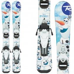 Ski Rossignol Frozen Baby + bindings Team 4 B76