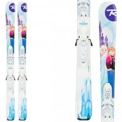 Ski Rossignol Frozen (Kid-X) + bindings Kid-X 4 B76