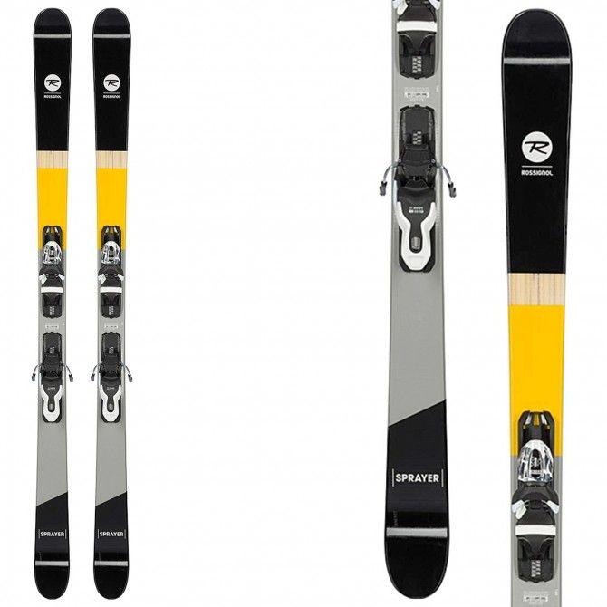 Ski Rossignol Sprayer (Xpress2) + fixations Xpress 10 B83