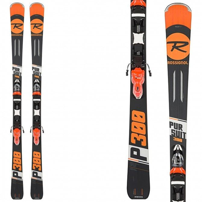 Sci Rossignol Pursuit 300 (Xpress2) + attacchi Xpress 11 B83 ROSSIGNOL Race carve - sl - gs