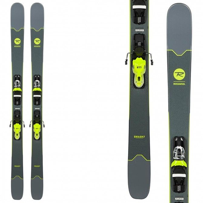 Ski Rossignol Smash 7 (Xpress2) + bindings Xpress 10 B93