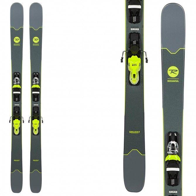 Ski Rossignol Smash 7 (Xpress2) + fixations Xpress 10 B93