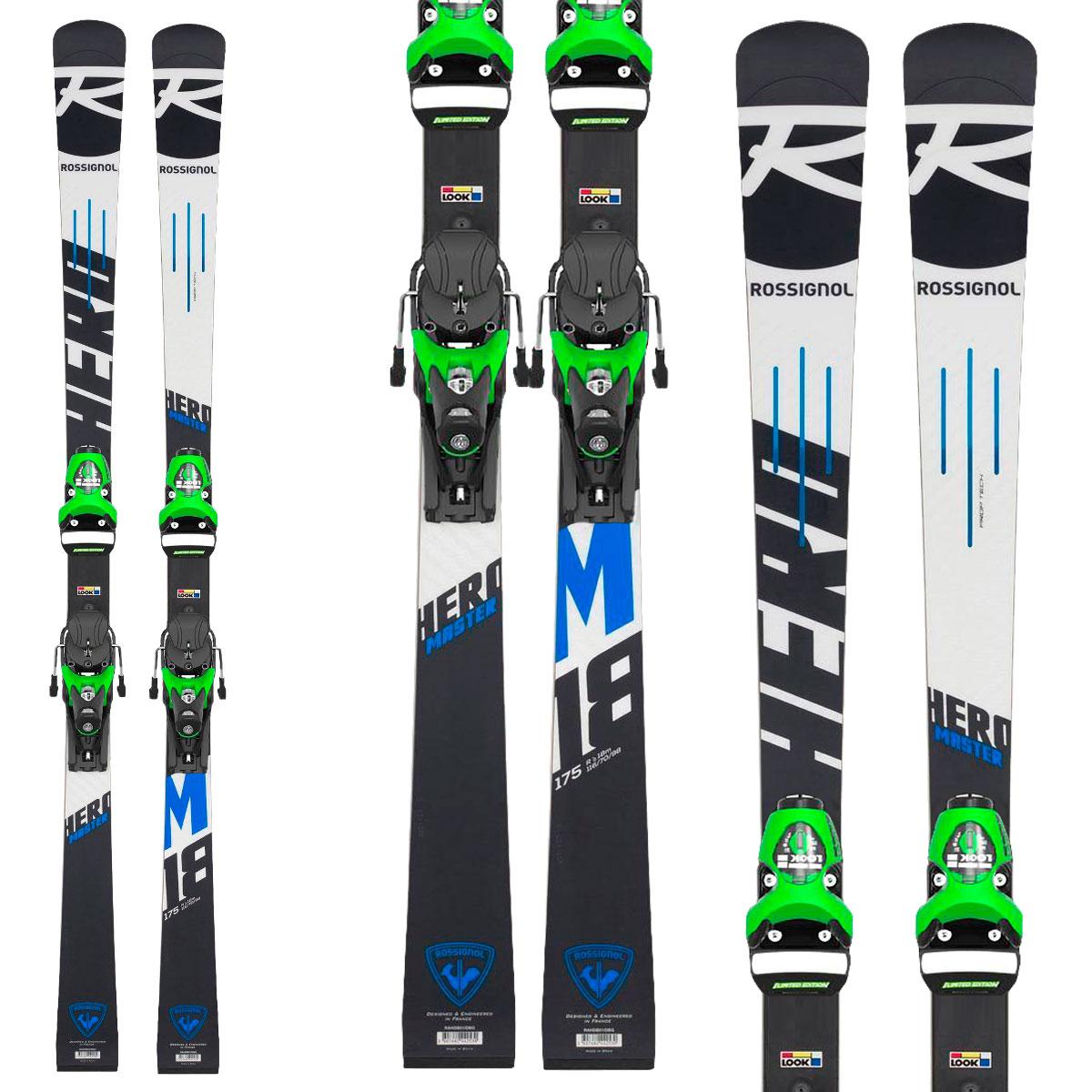 Ski Rossignol Hero Master (R22) + Bindings Spx 15