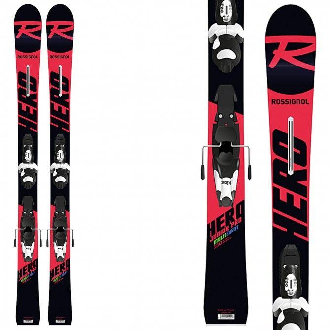Ski Rossignol Hero Jr Multi Event + bindings Kid-X 4 B76
