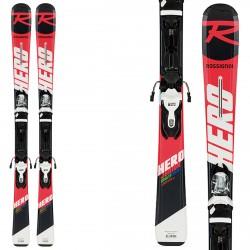 Esquí Rossignol Hero Jr 130-150 con fijaciones Xpress Jr 7 B83