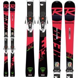 Ski Rossignol Hero Elite ST TI (Konect) avec fixations Nx 12 Konect Dual B80