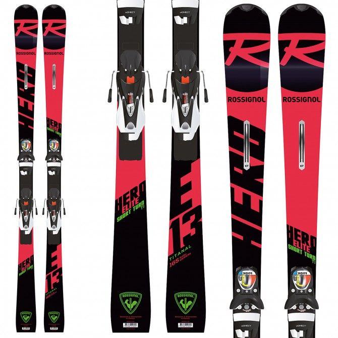 Ski Rossignol Hero Elite ST TI (Konect) + fixations Nx 12 Konect Dual B80