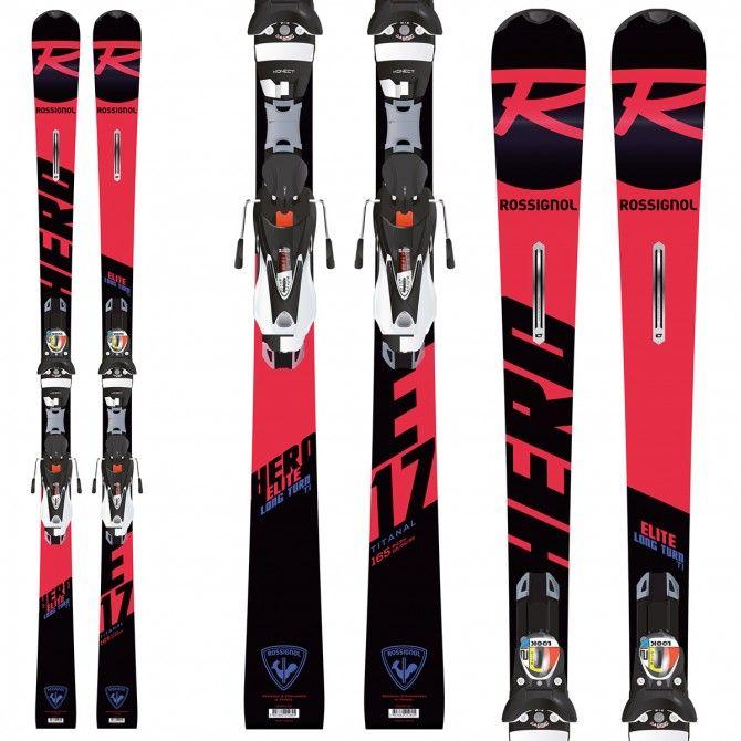 Esquí Rossignol Hero Elite Lt Ti (Konect) + fijaciones Nx 12 Konect Dual B80