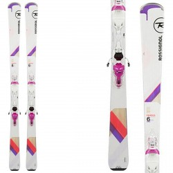 Ski Rossignol Famous 6 Ltd (Xpress) + fixations Xpress W10 B83