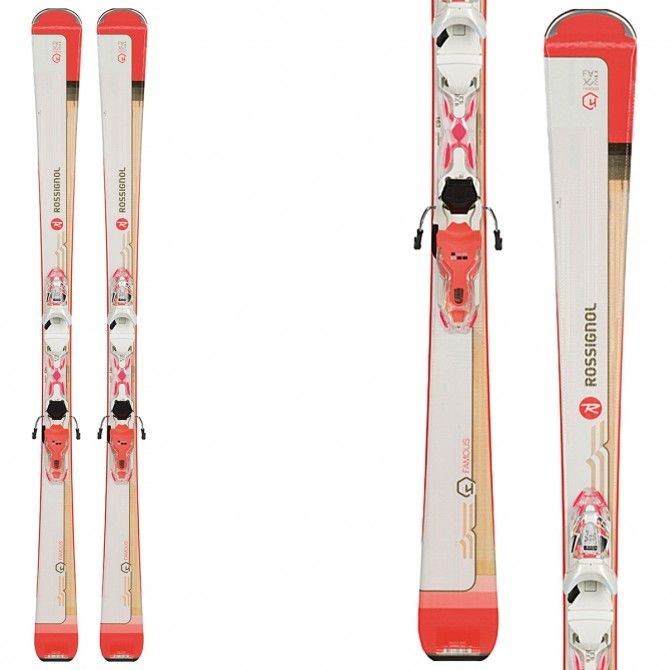 Ski Rossignol Famous 4 (Xpress) + bindings Xpress W 10 B83