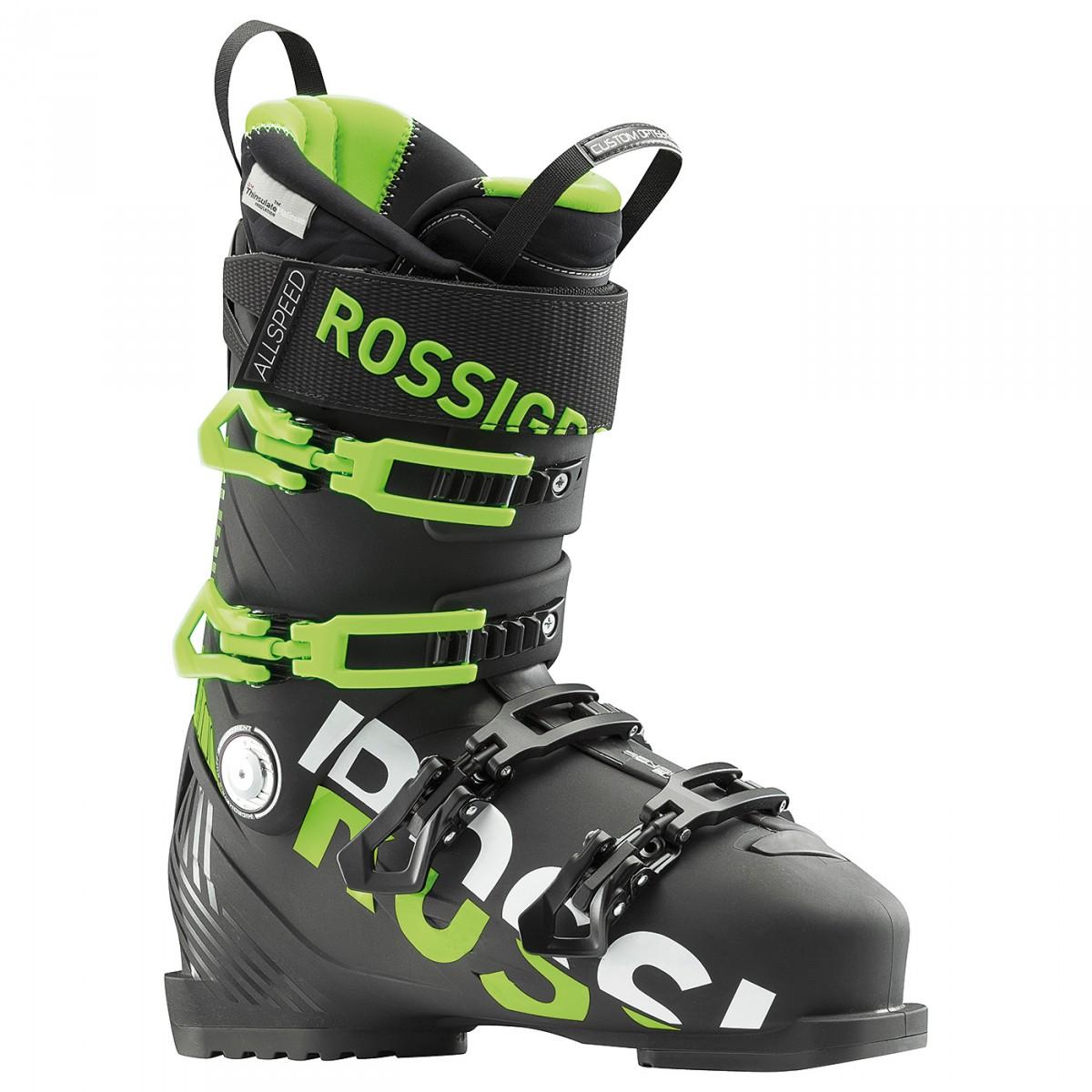 Scarponi sci Rossignol Allspeed Pro 100 (Colore: nero-verde, Taglia: 30.5)