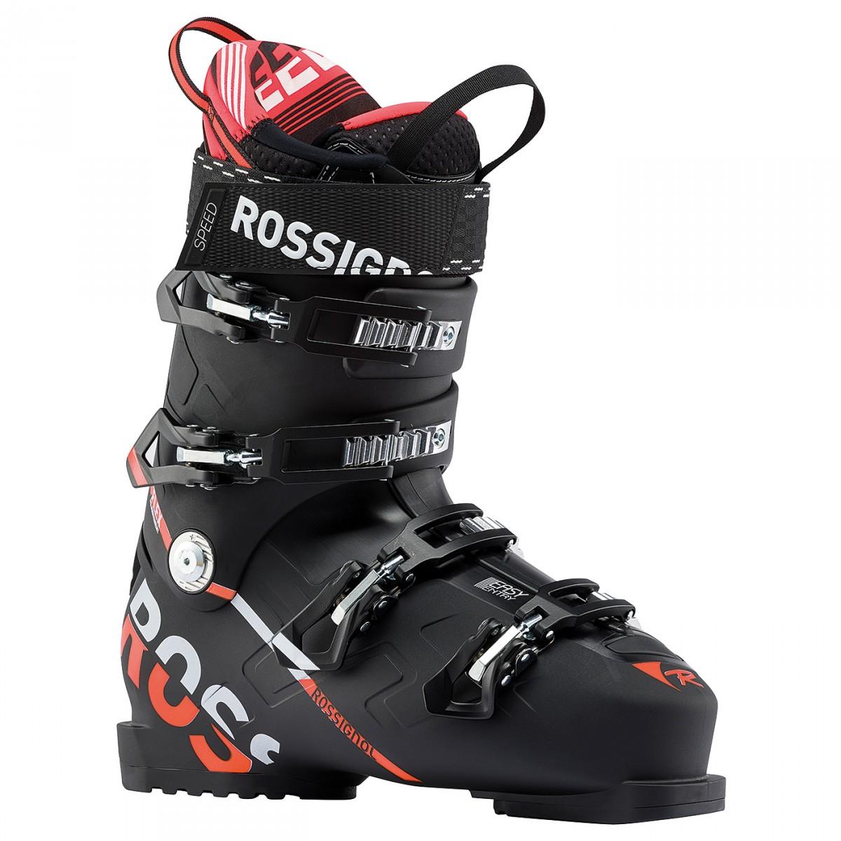 Scarponi sci Rossignol Speed 120 (Colore: nero-rosso, Taglia: 27)