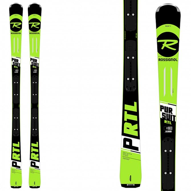 Sci Rossignol Pursuit Gt + attacchi Xpress 10 B83 ROSSIGNOL Race carve - sl - gs
