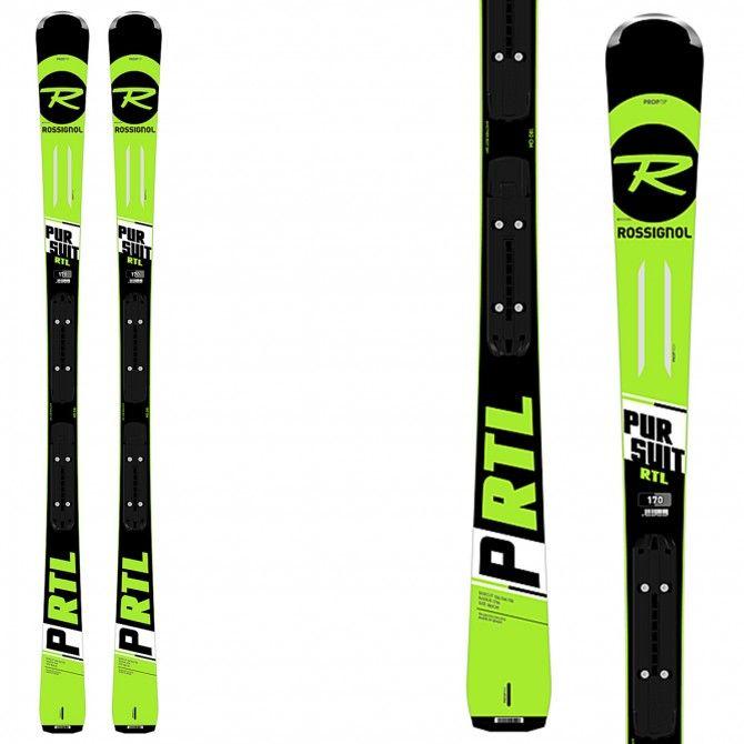 Ski Rossignol Pursuit Gt + fixations Xpress 10 B83