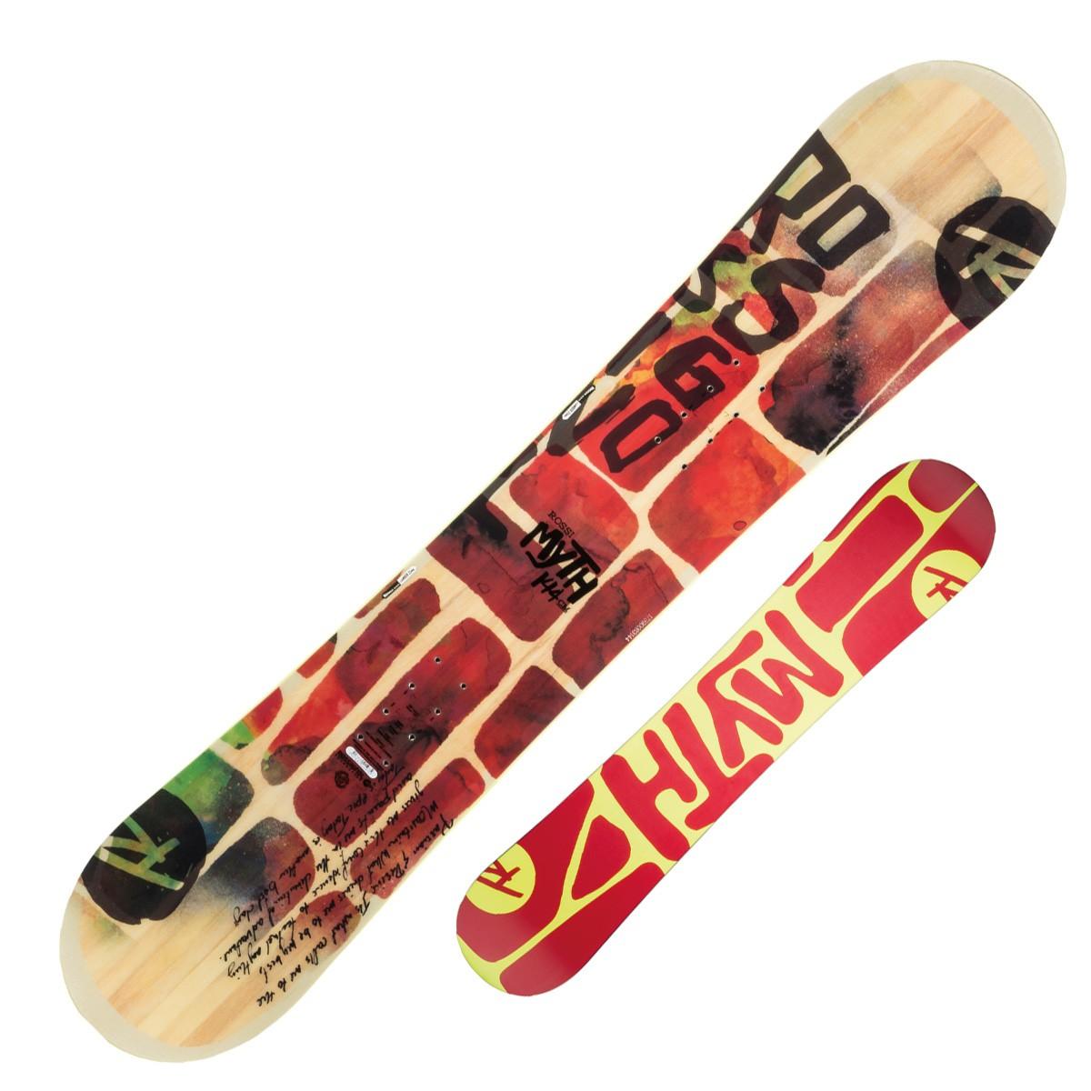 Snowboard Rossignol Myth (Colore: fantasia, Taglia: 139)