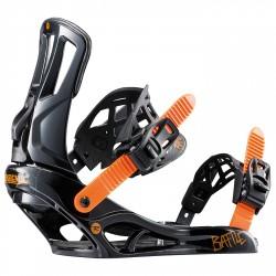 Attacchi snowboard Rossignol Battle M/L arancione