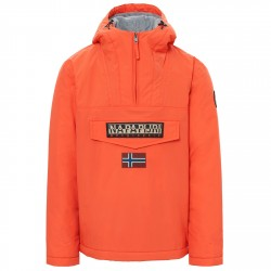 Cagoule Napapijri Rainforest Winter Uomo arancione