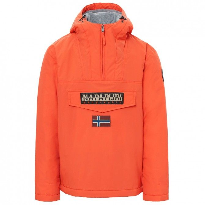 Kagool Napapijri Rainforest Winter Man orange