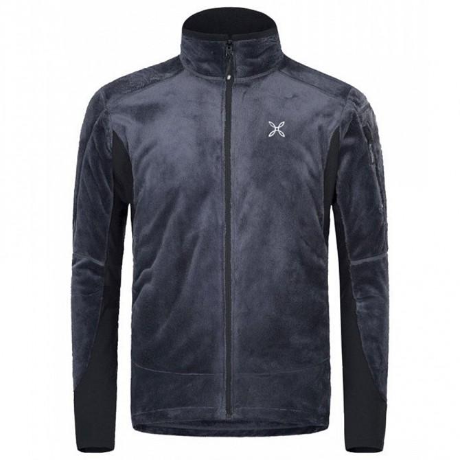 Mountaineering jacket Montura Polar Confort Man blue
