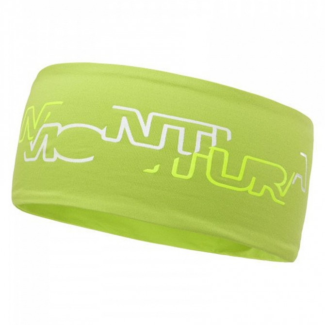 Headband Montura Step Light acid green