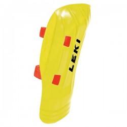 Shinguards Leki WorldCup Pro Junior yellow