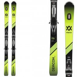 Ski Volkl Deacon 76 + bindings RMotion 12