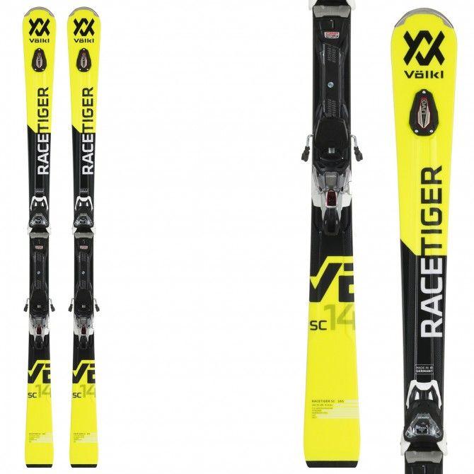 Ski Volkl Racetiger SC + bindings VMotion 12