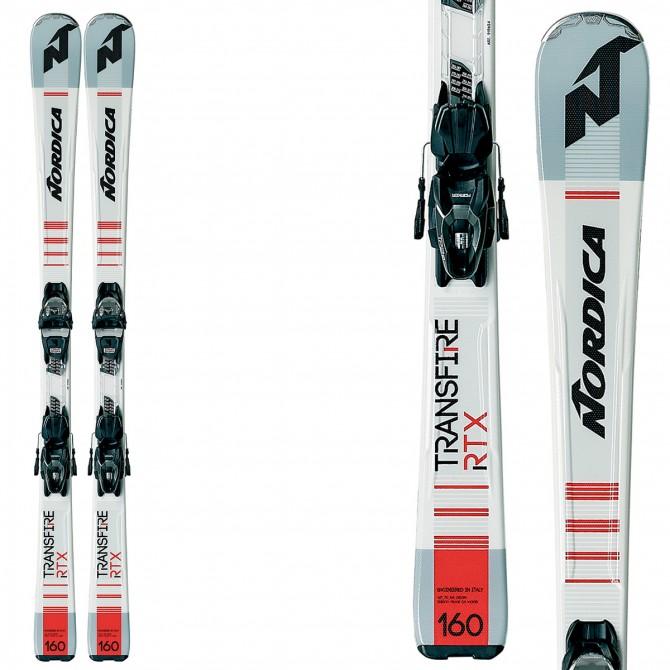 Esquí Nordica Transfire Rtx + fijaciones Comp 10
