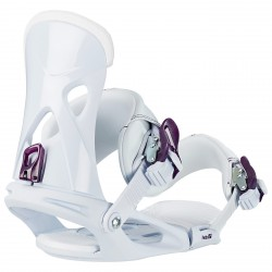 Snowboard bindings Head Nx Fay I white