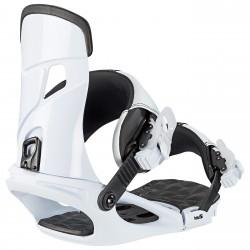 Snowboard bindings Head Nx One white