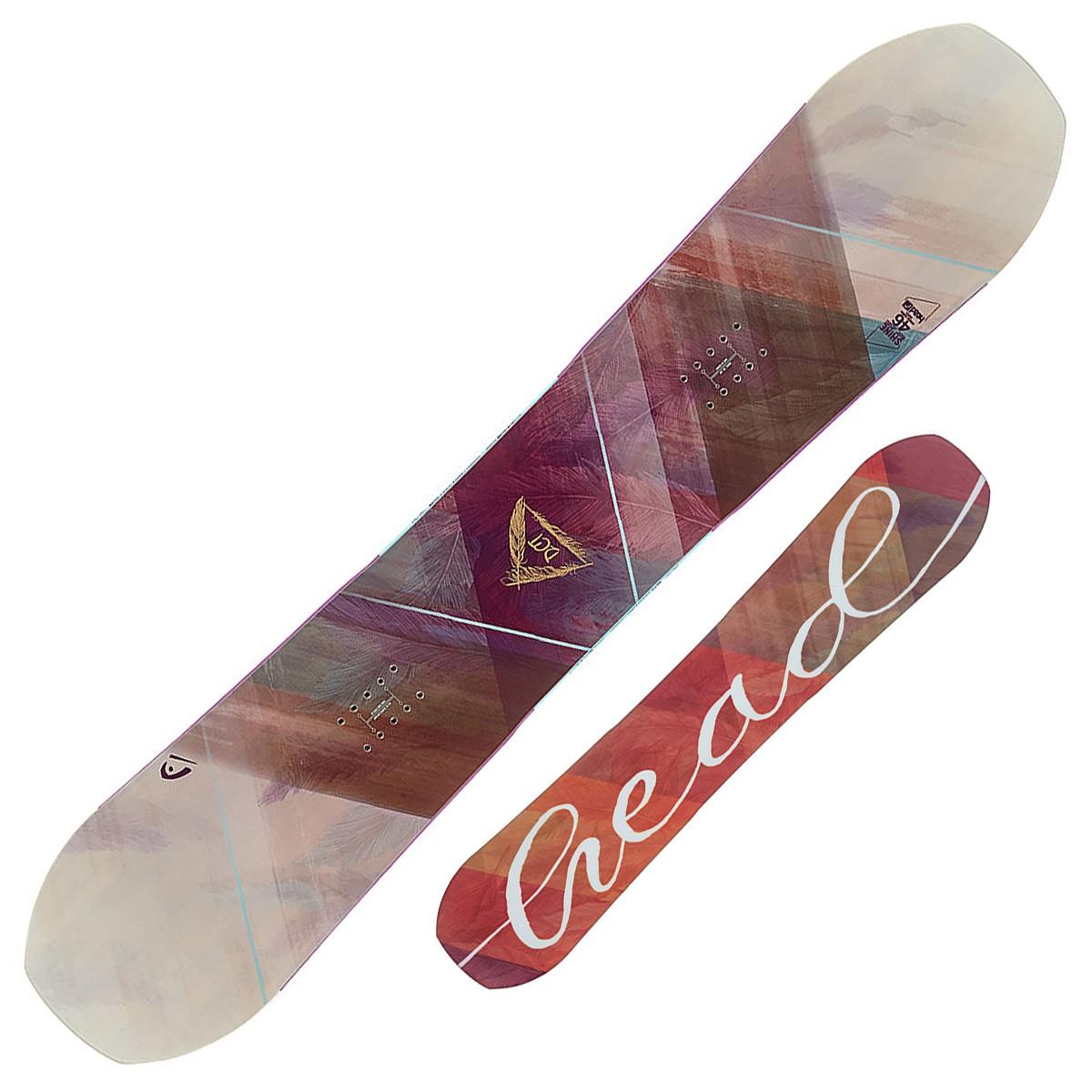 Snowboard Head Shine (Colore: viola fantasia, Taglia: 146)
