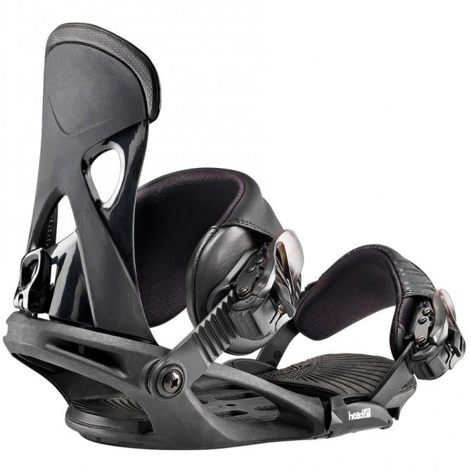 Snowboard bindings Head Nx Fay I black