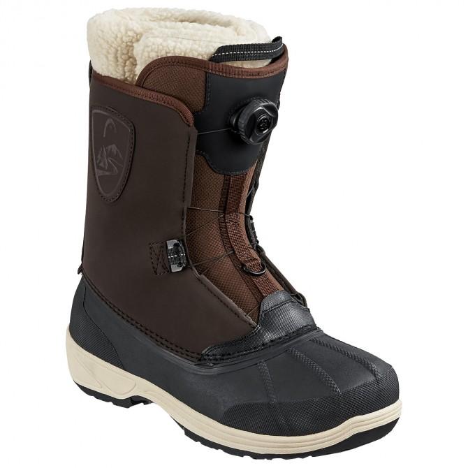 Chaussures snowboard Head Operator Boa brun