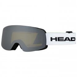 Maschera sci Head Infinity Race + lente bianco-lime