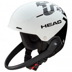 Casco esquí Head Team SL blanco-negro