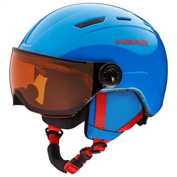 Casco sci Head Mojo Visor blu