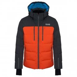 Chaqueta esquí Colmar Chamonix Hombre gris-naranja