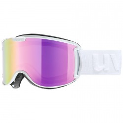 Maschera sci Uvex Skyper Ltm bianco