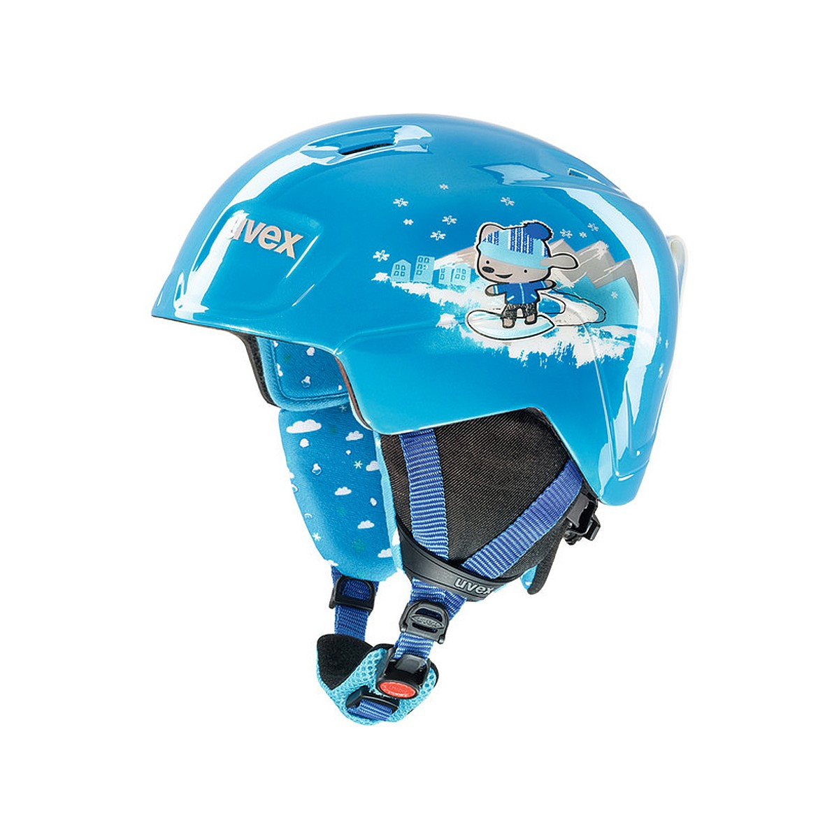 Casco sci Uvex Manic (Colore: blu, Taglia: 51/55)