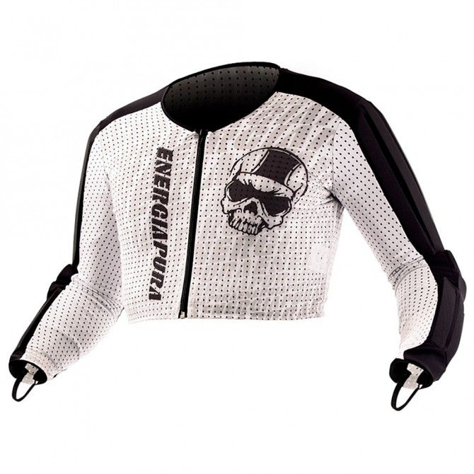Suéter Energiapura Racing Unisex blanco-negro