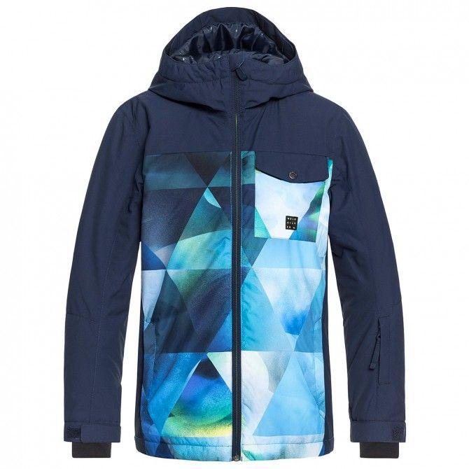 Snowboard jacket Quiksilver Mission Block Boy