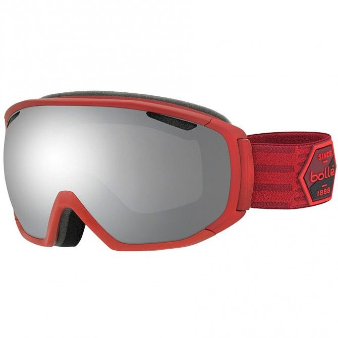 Máscara esquí Bollé Tsar rojo