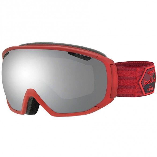 Masque ski Bollé Tsar rouge