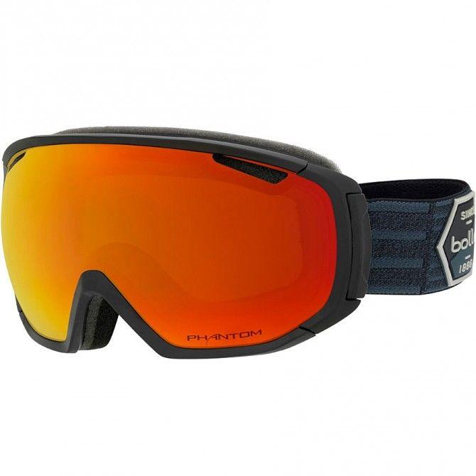 Máscara esquí Bollé Tsar negro-rojo