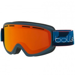 Máscara esquí Bollé Schuss navy-naranja